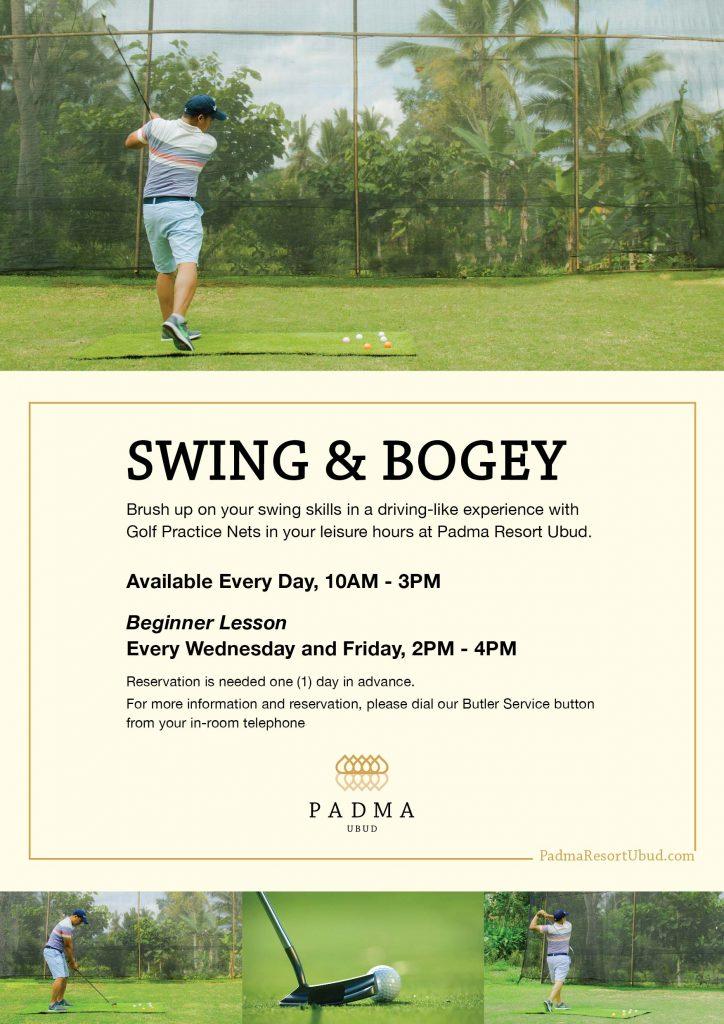 Swing and Bogey at Padma Resort Ubud