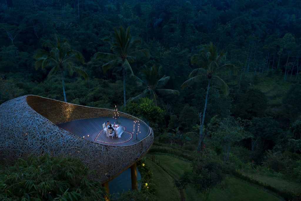 Padma Resort Ubud - Romantic Dinner