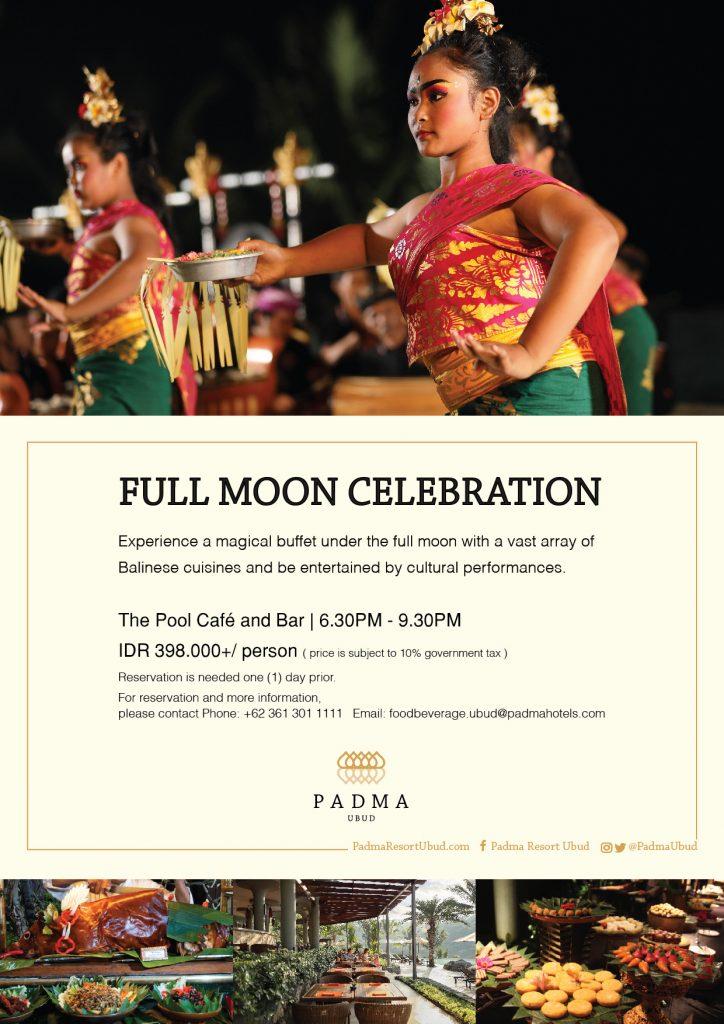 Padma Resort Ubud - Full Moon Celebration