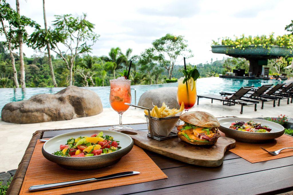 The Pool New Menu - Padma Resort Ubud