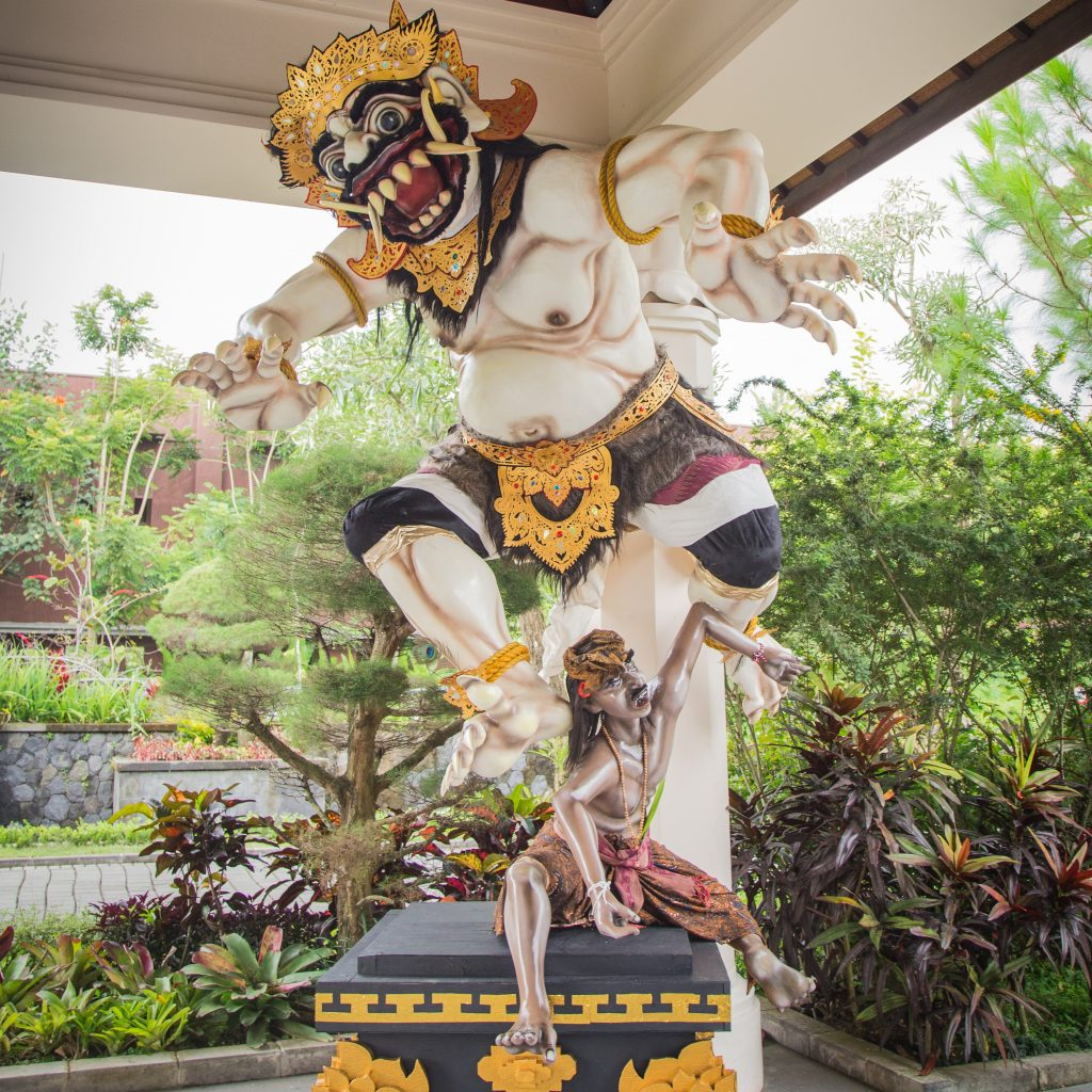 Ogoh Ogoh at Padma Resort Ubud