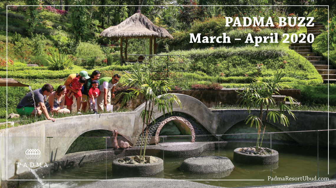 Padma Resort Ubud Padma Buzz March - April 2020